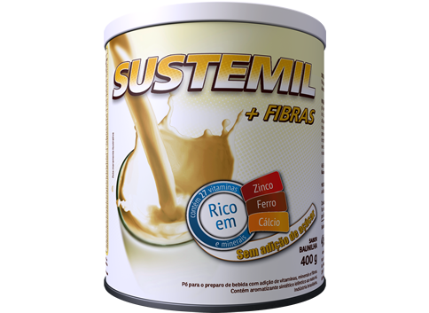Sustemil + Fibras Baunilha