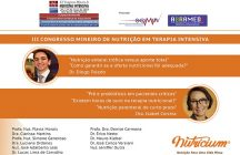 III Congress of Nutrition in Intensive Therapy in Minas Gerais – May 2017